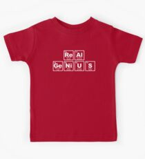 Real Genius - Periodic Table Kids Tee