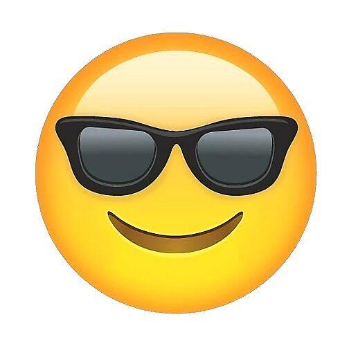 """Sunglasses Emoji"" by shadeenlois | Redbubble"