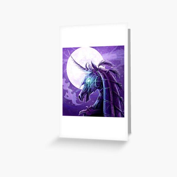 Knightcorn Greeting Card