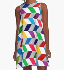 Zip A-Line Dress
