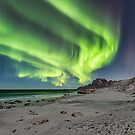 At the beach by Frank Olsen