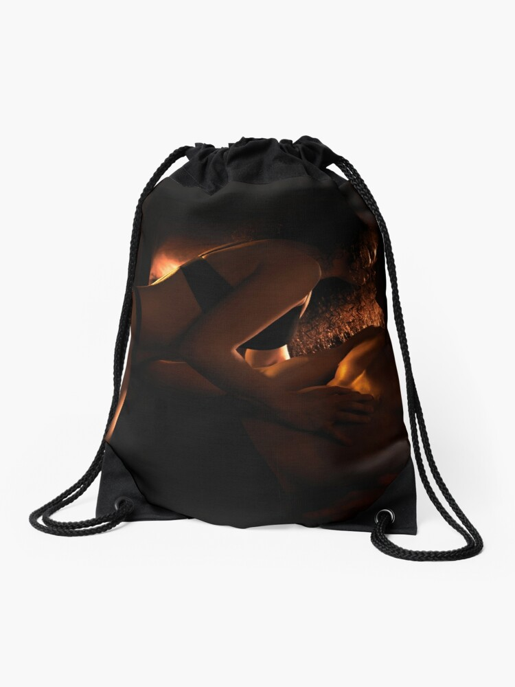 Drawstring Backpack HOW TO BE A GOOD KISSER Shoulder Bags