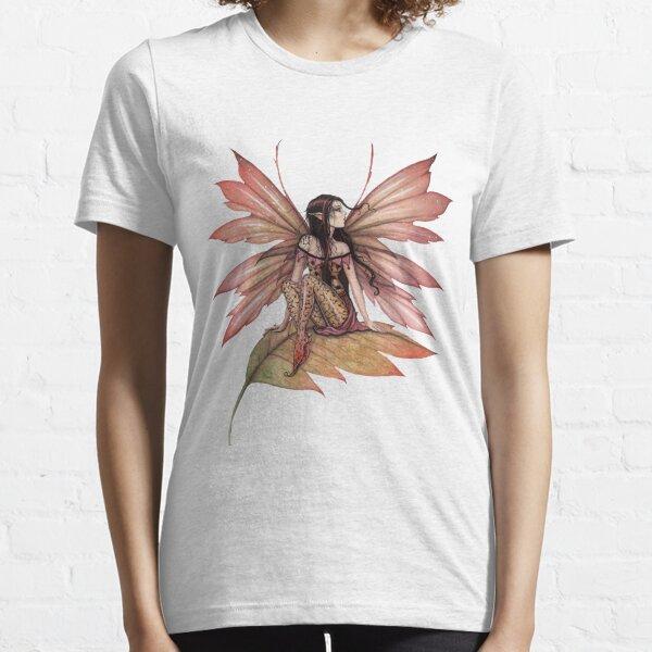 Autumn Drifting Fairy Fantasy Art Essential T-Shirt