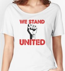 anti valentines day design unisex t shirt 1950 political anti trump we stand united womens relaxed - Anti Valentines Day Shirts