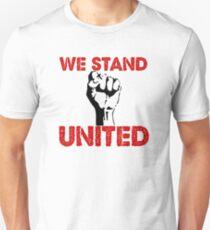 "Political Anti Trump ""We Stand United"" Unisex T-Shirt"