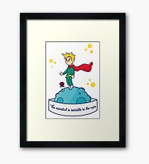 The Little Prince Framed Print