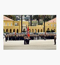 Marines at Camp Pendleton Photographic Print