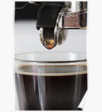 Espresso close up Poster