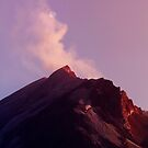 Mount St. Helens At Sunset. by Alex Preiss