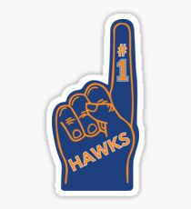 Foam Finger--SUNY New Paltz Sticker