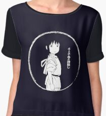 Spirited Away Chiffon Top