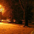 """""""A Snowy Evening in Knoxville"""" (no.4, from this series)... products  by Bob Hall©"""