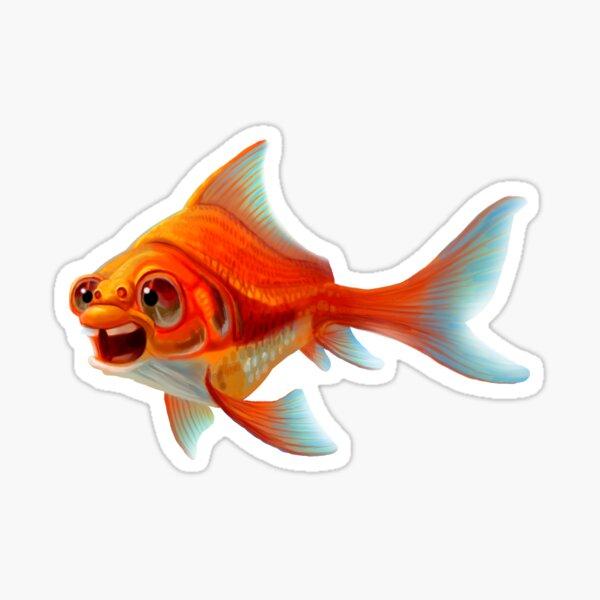 Derpfish (Three second memory). Sticker