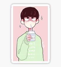 mob psycho - melk molk malk Sticker