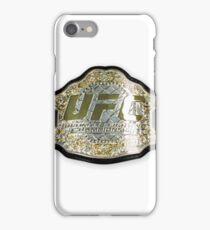 UFC belt iPhone Case/Skin