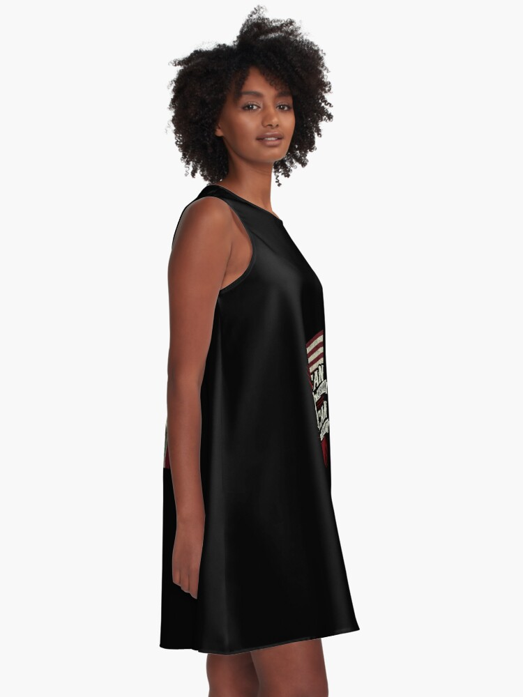 Alternate view of American Grown with Mexican Roots copy A-Line Dress