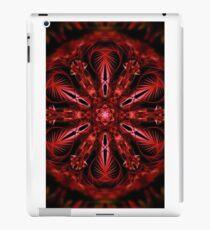 psychedelic valentine fractal mandala iPad Case/Skin