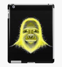 Wacky Yellow Energy Gorilla iPad Case/Skin