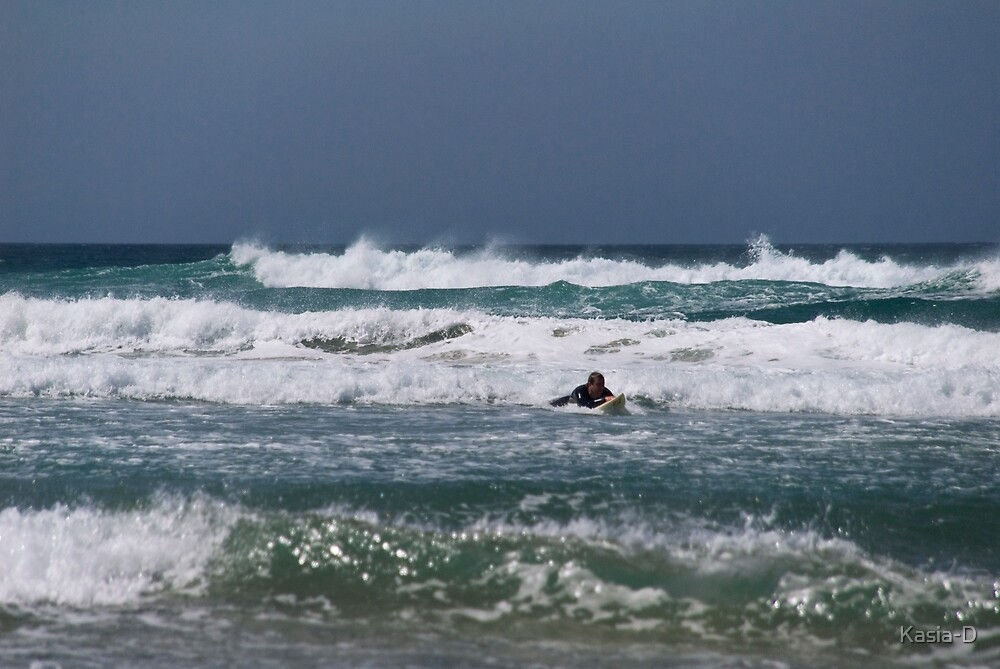 Islay: Surfing by Kasia-D