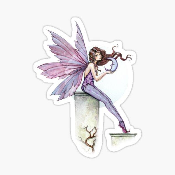 Whispering Moon Fairy Art by Molly Harrison Sticker