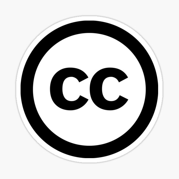 Creative Commons Sticker