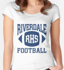 Riverdale - Football Team Women's Fitted Scoop T-Shirt