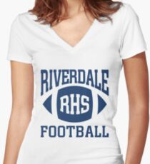 Riverdale - Football Team Women's Fitted V-Neck T-Shirt