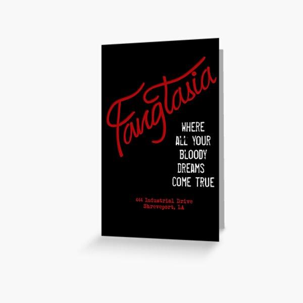Fangtasia - sueños sangrientos Tarjetas de felicitación
