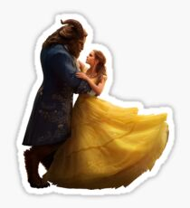 Beauty and the Beast (sticker) Sticker