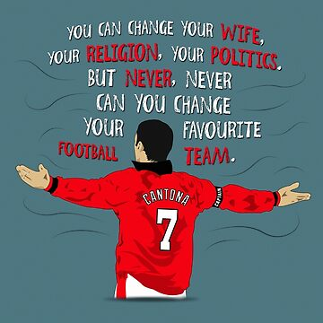 Eric Cantona Quote by theunitedpage