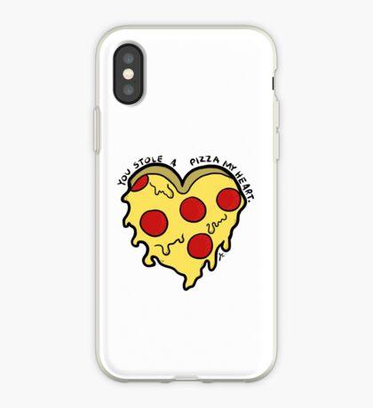 pizza mi corazón Vinilo o funda para iPhone
