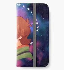 Der grüne Paladin - Pidge iPhone Flip-Case/Hülle/Klebefolie
