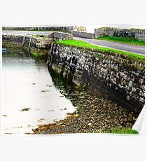 Milk Harbour at low tide, Sligo, Donegal, Ireland Poster