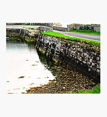 Milk Harbour at low tide, Sligo, Donegal, Ireland Photographic Print