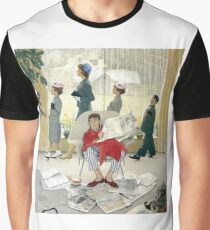 Norman Rockwell Easter Morning  Graphic T-Shirt