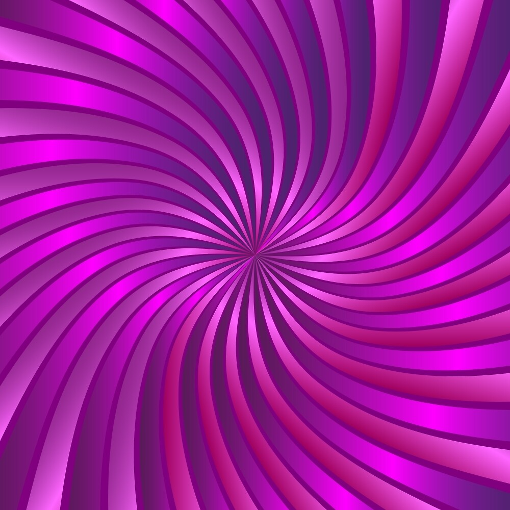 Spiral Vortex Purple by MEDUSA GraphicART