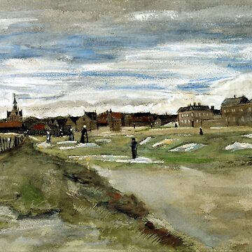 Vincent van Gogh Bleaching Ground at Scheveningen by pdgraphics