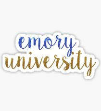Emory University Sticker