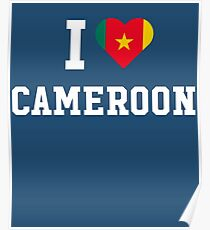 I Love Cameroon  Poster