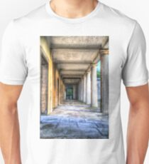 Kensal Green Cemetery London Colonnade  Unisex T-Shirt