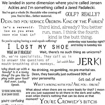 Supernatural - Sam Quotes by prolificpixie