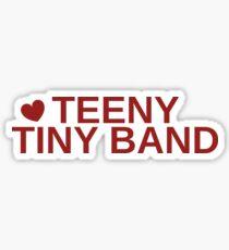 Falsettos - Teeny Tiny Band Sticker