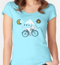 Bicycle Day Women's Fitted Scoop T-Shirt