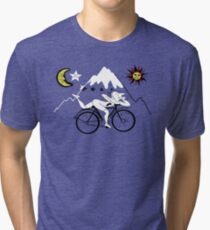Bicycle Day Tri-blend T-Shirt