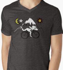 Bicycle Day Men's V-Neck T-Shirt