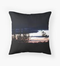 Sligo Sunset, Donegal, Ireland Throw Pillow