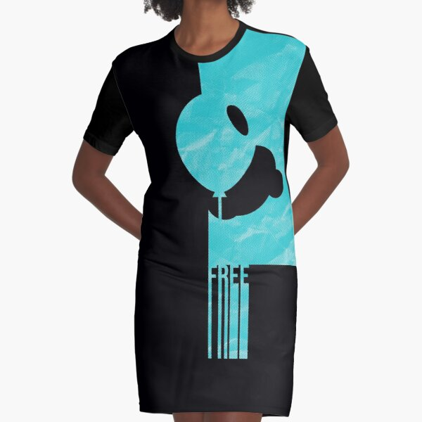 Free T-Shirt Kleid