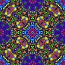 Fractal Floral Abstract by MEDUSA GraphicART