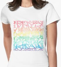 Over The Tangled Rainbow Women's Fitted T-Shirt