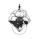 Turn Your World Over - Floral Geometry by boelterdesignco